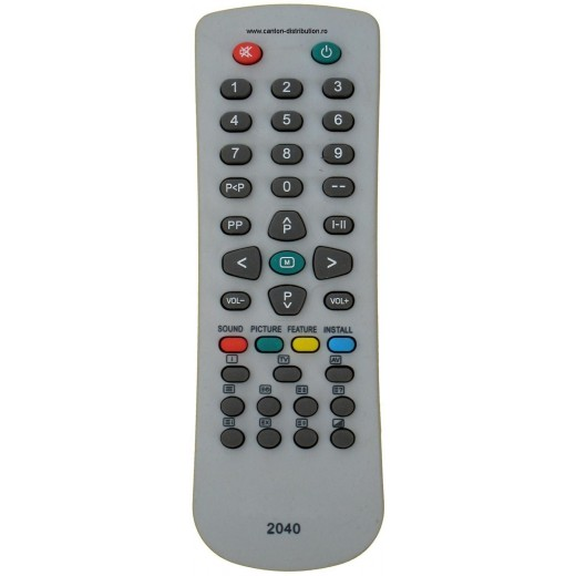 Nr.159/ 2040 MICA Telecomandă pentru TV VESTEL (IR43M, P2500)