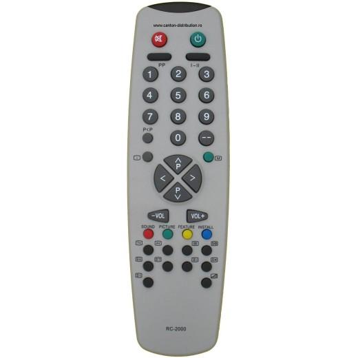 Nr.210/ 3040 MARE Telecomandă pentru TV VESTEL (IR43M, P2500Y)