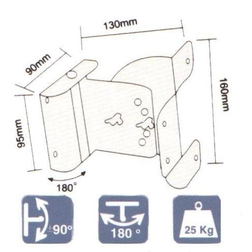2132/ SUPORTI METALICI BOXE(SET)