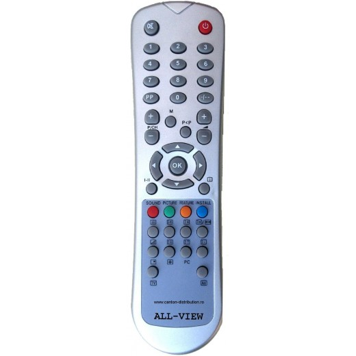 Nr.225/ ALLVIEW Telecomandă pentru LCD ALLVIEW, VESTEL
