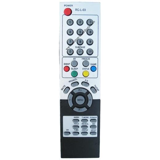 Nr.409/ RC-L-03 Telecomandă pentru TV AEG, CLATRONIC, GRUNDIG