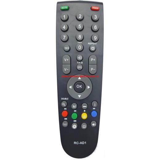 NR.615/ RC-AD1 Telecomandă pentru LCD ARCELIK, BEKO, GRUNDIG