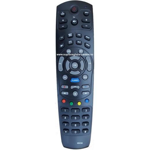 Nr.616/ Telecomanda pentru receptor Dolce HD