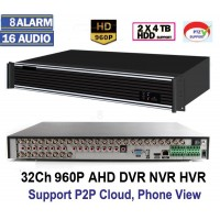 A9232HE /32 Canale Tribrid DVR/HVR/ NVR Compatibil cu camerele AHD 960P(1.3 MP), 720P (1 MP) si Analogice full D1