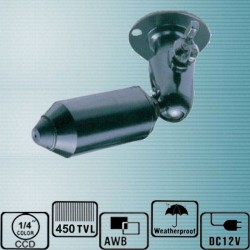 NK-210ACT008/ Cameră de supraveghere tip Bullet cu lentilă pinhole la 480 TVL