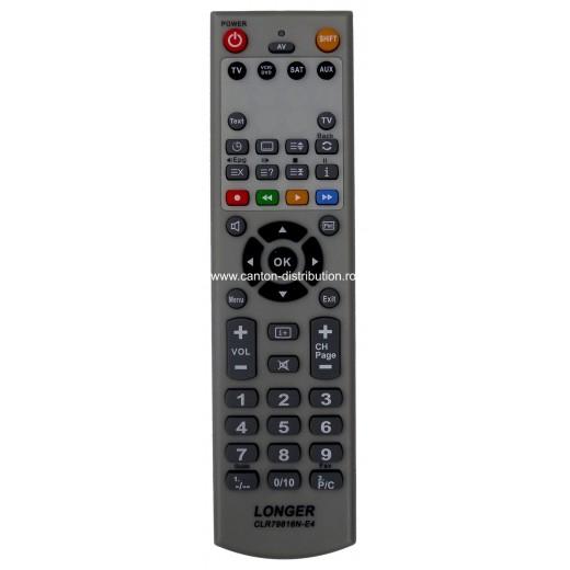 Nr.379/ CLR-79816N-E4 Telecomandă programabilă 4 în 1