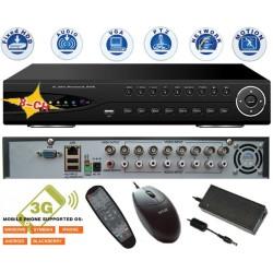 DVR-9308/ DVR cu 8 canale video și 8 canale audio