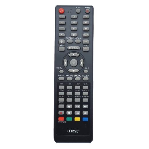 Nr.705/ LED2201 Telecomanda pentru LED EBODA-KONKA-AUDIOSONIC-AKAI