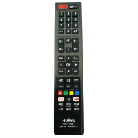 Nr.739/ RM-L1200+ Telecomandă pentru LCD AKAI, DIGIHOME, FINLUX, HITACHI, TELEFUNKEN, VESTEL cu NETFLIX și YOUTUBE