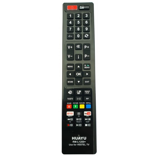 Nr.739/ RM-L1200+/ LCD AKAI, DIGIHOME,FINLUX, HITACHI, TELEFUNKEN, VESTEL CU NETFLIX SI YOUTUBE