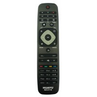 """NR.742/ RM-D1110 Telecomandă pentru LCD/LED PHILIPS cu coduri SAA3010 și PHILIPS (POWER+TASTA""""1""""-SAA3010, POWER+TASTA""""2""""-PHILIPS)"""