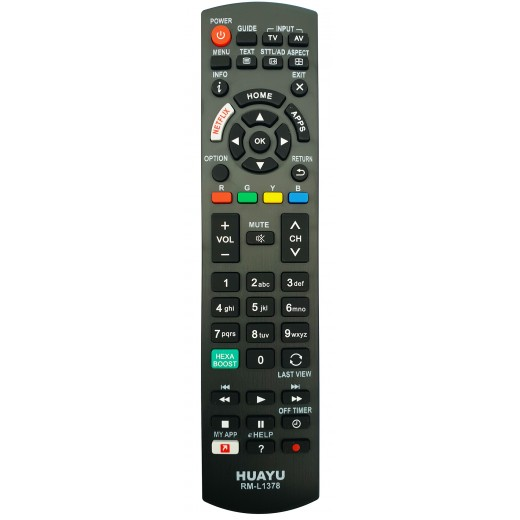 Nr.745/ RM-L1378 TELECOMANDA LED/DVD PANASONIC CU NETFLIX si APPS