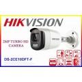 DS-2CE10DFT-F/Camera TurboHD 2 MP, lentila 3.6 mm ColorVU, Hikvision vizualizare color pe timp de noapte, IP67