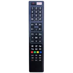 NR.719/ RC-4848-H Telecomandă pentru LCD/LED HITACHI, TELEFUNKEN, DUAL, TELETECH, HORIZON, NEI cu NETFLIX