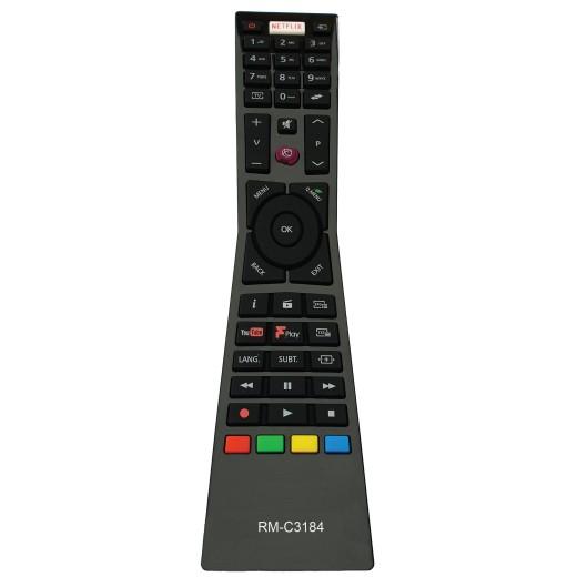 Nr.774/ RM-C3184 pentru LED JVC cu NETFLIX(SYS CODE 02) 4K