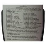 Nr.680/ RM-L815+3 TELECOMANDA UNIVERSALA PENTRU LCD-LED, SAT SI DVD