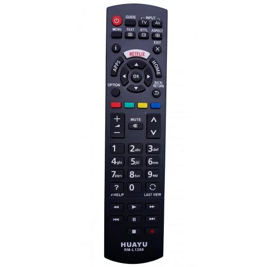 Nr.669/ RM-L1268 TELECOMANDA LED/DVD PANASONIC CU NETFLIX -N2QAYB001009