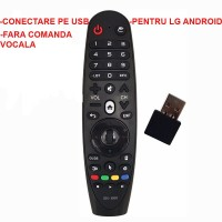 Nr.678/ SR-600 SMART LCD LED  LG cu airmouse in 2.4 G cu conectare pe USB