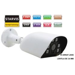 UV-AHDBN515/ Camera supraveghere Analog-HD(3 Mpixeli)de exterior/interior pentru 20 metri pe timp de noapte si lentila fixa de 3.6 mm
