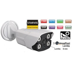 UV-AHDBN909_6MM/ Camera supraveghere Analog-HD(3 Mpixeli)de exterior/interior pentru 50 metri pe timp de noapte si lentila fixa de 6 mm