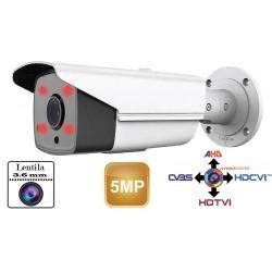 UV-HDBG525/ Cameră de supraveghere AHD 5 Mpixeli/TVI/CVI(1080P)/CVBS  de exterior/interior pentru 40 metri pe timp de noapte