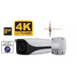 UV-HDBK624/ Cameră de supraveghere de exterior/interior  4 în 1 AHD/TVI/CVI/CVBS  (8 Mpixel/4K) pentru 20 metri pe timp de noapte