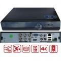XVR-3904FC/ Pentabrid DVR cu 4 canale 4K (8Mp) pentru camere AHD/TVI/Analog/IP