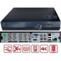 XVR-3208FC/ Pentabrid DVR cu 8 canale 4K (8Mp) pentru camere AHD/TVI/Analog/IP
