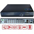 XVR-4416FC/ Pentabrid DVR cu 16 canale 4K (8Mp) pentru camere AHD/TVI/Analog/IP