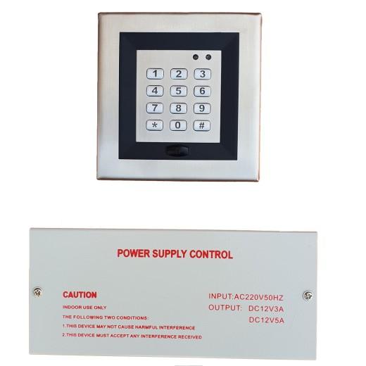 DA-9008  Sistem Control Acces(cu cartele si cod)+sursa alimentare