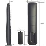Nr.591/ RC1912 Telecomandă pentru LCD TELEFUNKEN, TELETECH, VESTEL, DIGIHOME