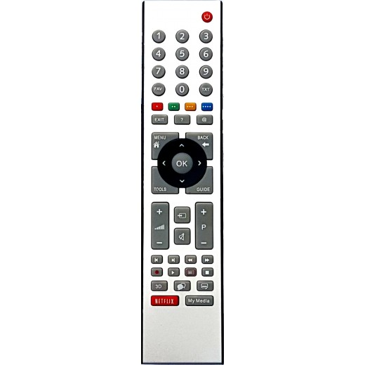 NR.650/ TS1187R Telecomandă pentru LCD/LED GRUNDIG cu NETFLIX