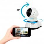 WFQ11/ Mini PTZ IP Wireless Camera H.264 cu inregistrare pe card microSD pana la 128G de interior