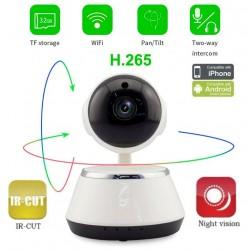 WFQ6/ Mini PTZ IP Wireless Camera cu inregistrare pe card micro SD pana la 64 GB