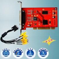AC-TW404A/ Card captura imagini cu 4 canale video si 4 audio cu compresie apropiata de compresia hardware