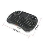 I8/ telecomanda cu tastatura si touchpad mouse wireless 2.4ghz