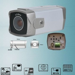 SS-205 Cameră de supraveghere de interior cu lentilă reglabilă incorporată de 3,5-8 mm