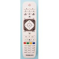 "NR.766/ 398GR8BD-3NTW Telecomandă pentru LCD/LED PHILIPS cu coduri PHILIPS și SAA3010 (POWER+TASTA""1""-SAA3010, POWER+TASTA""2""-PHILIPS)"